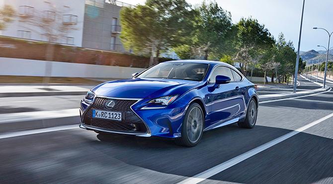 Lexus GS ve RC Türkiye'de