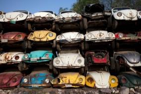 Hurdalıklara toplanan arabalar ne olur ?