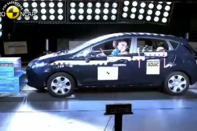 2008 Ford Fiesta çarpışma testi