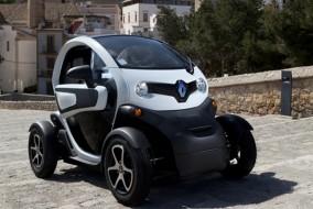 Renault'un elektrikli modeli Twizy