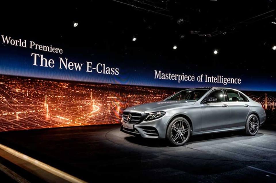 Mercedes'ten yeni E serisi