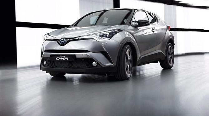 Toyota'nın yeni gözdesi CH-R
