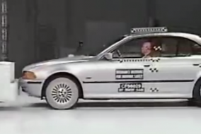 1997 BMW IIHS test