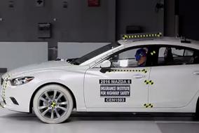 2016 Mazda 6 IIHS test