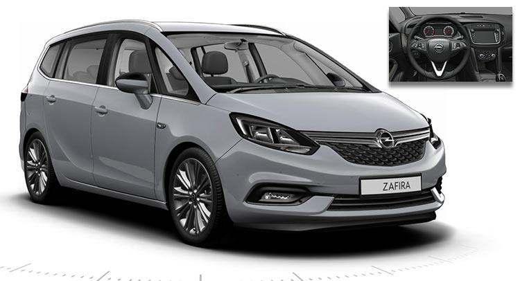 Yeni Opel Zafira Tourer