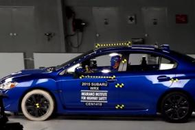 2015 Subaru WRX test