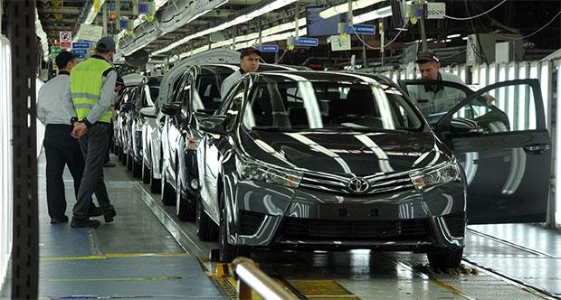 Toyota'nın Avrupa üretim faaliyetleri, 10 milyon adete ulaştı