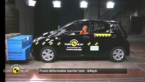 2014 Hyundai i10 test