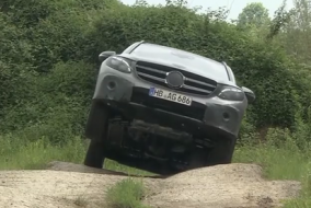 2016 Mercedes GLC Offroad Test