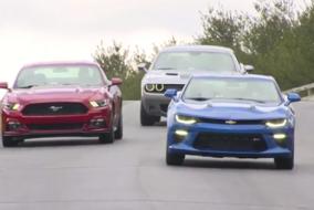 2016 Mustang, Camaro ve Challenger IIHS testler