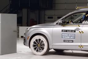 2017 Audi Q7 IIHS test