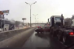 inanılmaz trafik kazaları