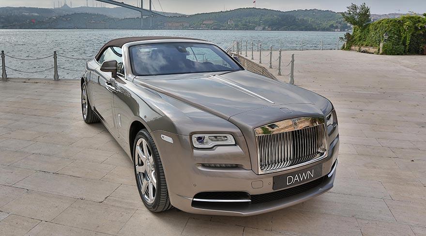 Rolls-Royce Dawn Türkiye'de