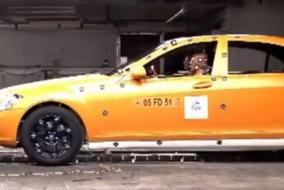 2010 Mercedes S-Class test