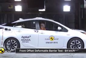 2016 Toyota Prius test