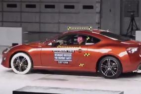 Toyota GT-86, Scion FR-S, Subaru BRZ IIHS test
