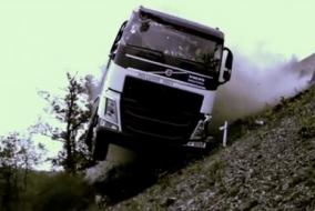 Volvo kamyonlarının testleri