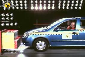 2000 Skoda Fabia test