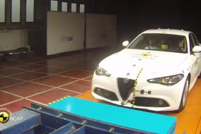 2016 Alfa Romeo Giulia test