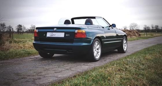 ArabaTeknikBilgi-BMW-Z1-tanıtım