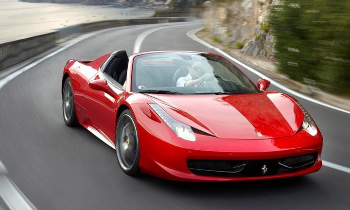 2011-2015 Ferrari 458 Spider 4.5