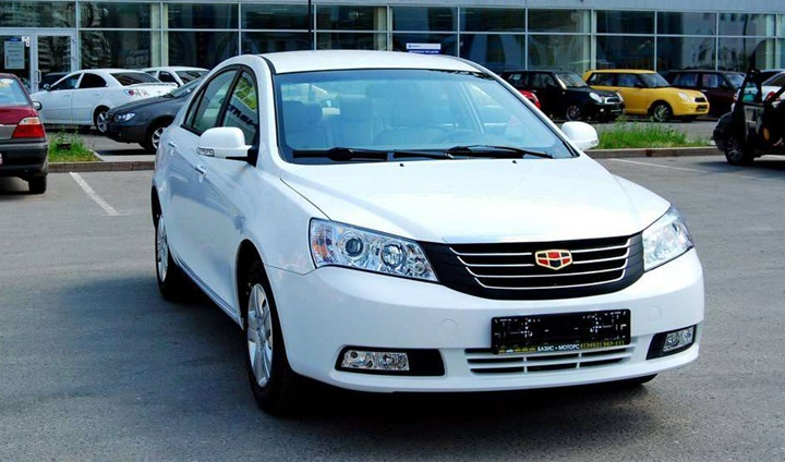 2010-2014 Geely Emgrand 1.5