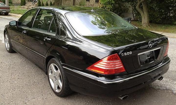 1998-2002 Mercedes-Benz S 600