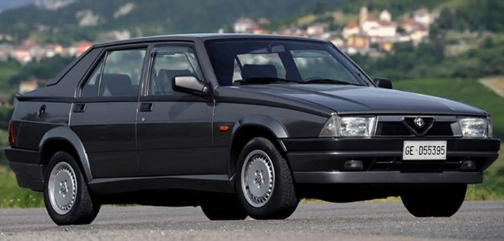1987-1992 Alfa Romeo 75 2.0 T.S. (Twin Spark)