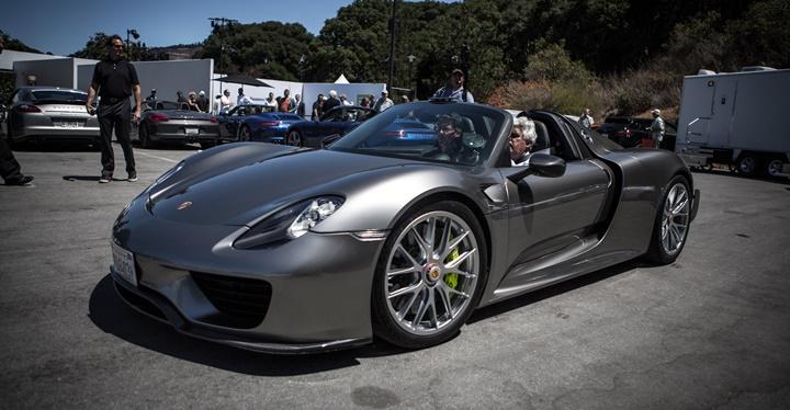 Porsche 918 Spyder Hybrid PDK