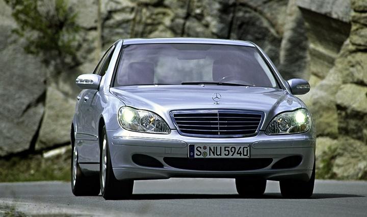 2002-2005 Mercedes-Benz S 600 L