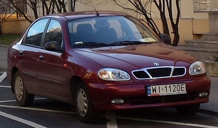 1997-2000 Daewoo Lanos Sedan