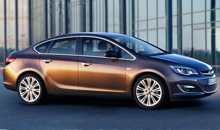 2012-2015 Opel Astra J Sedan