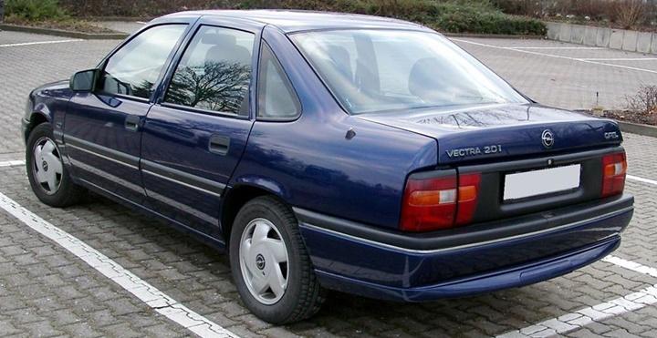 1988-1992 Opel Vectra