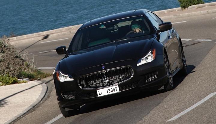 2014-2016 Maserati Quattroporte 3.0 TDI