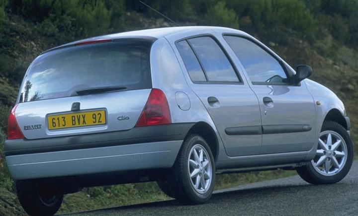 1998-2005 Renault Clio 1.6