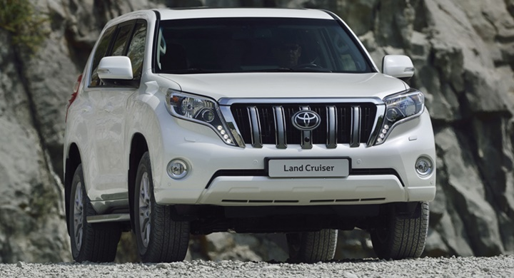 2017 Toyota Land Cruiser Prado 2.8 D4-D AT
