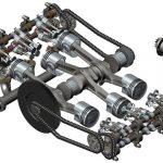 Boksör tipi motor