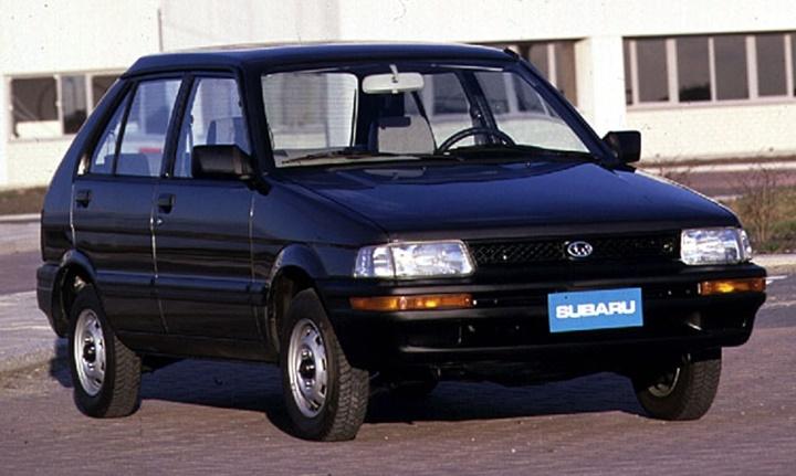 1990-1995 Subaru Justy 1.2i
