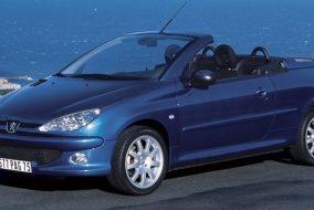 2001-2007 Peugeot 206 CC 1.6
