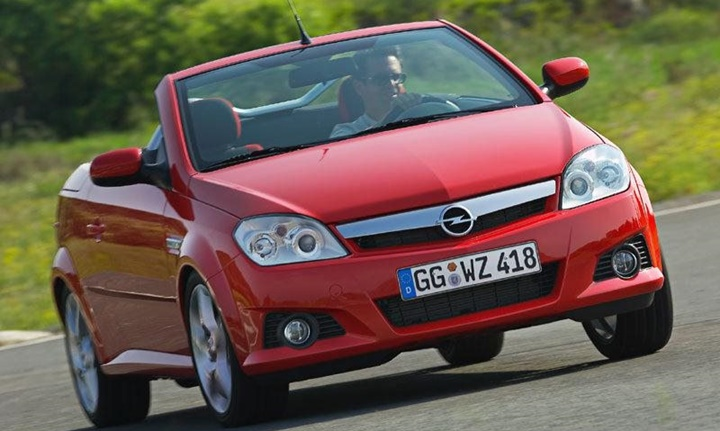 2004-2009 Opel Tigra TT