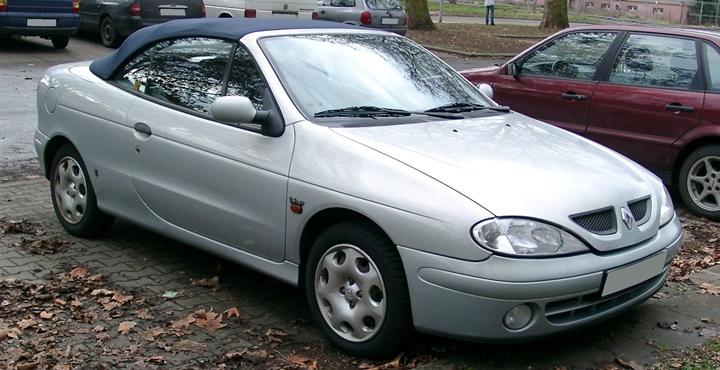 1997-2003 Renault Megane Cabriolet