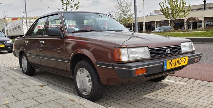 1985-1989 Subaru Leone 1.6