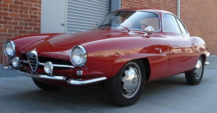 1964-1966 Alfa Romeo Giulia SS 1600