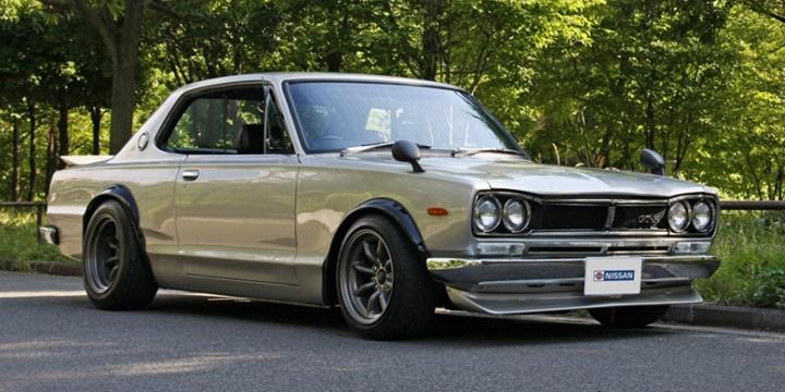 1970-1972 Nissan Skyline 2000 GT-R