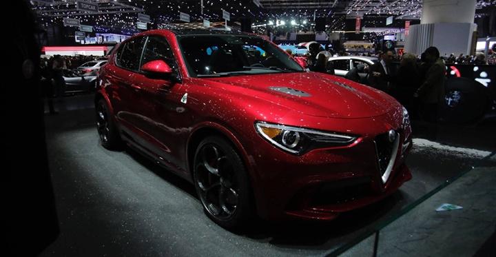 2017 Alfa Romeo Stelvio 2.0 AT