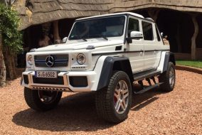 2017-2018 Mercedes-Maybach G 650 Landaulet