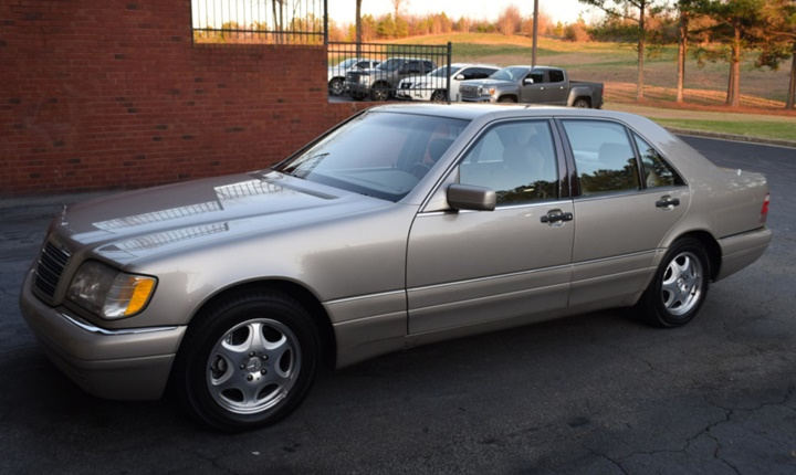 1993-1998 Mercedes-Benz S 320L