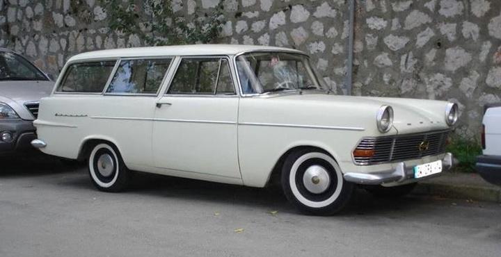 1960-1963 Opel Rekord Caravan