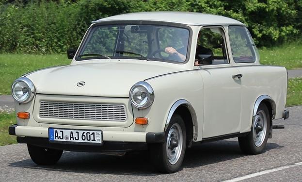 1974-1990 Trabant 601 De Luxe