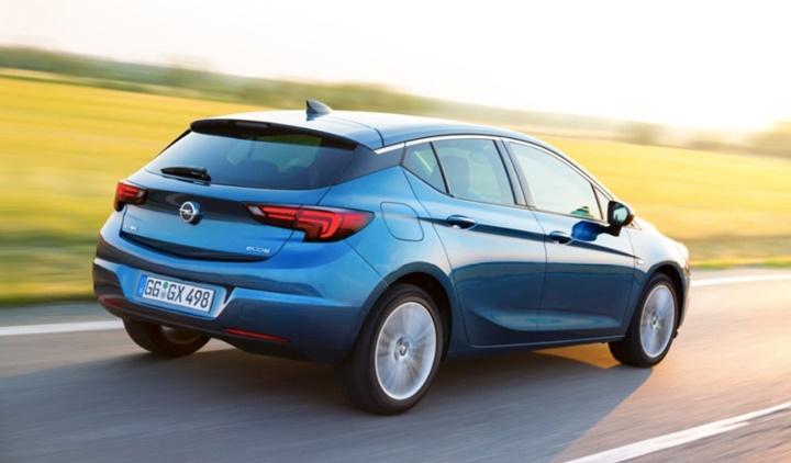 2019 Opel Astra Hatchback Araba Teknik Bilgi